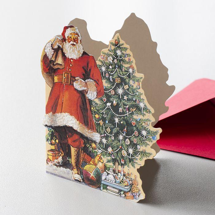 Grußkarte Weihnachtsbaum