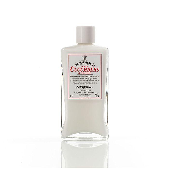 D.R. Harris Milk of Cucumber & Roses 150 ml