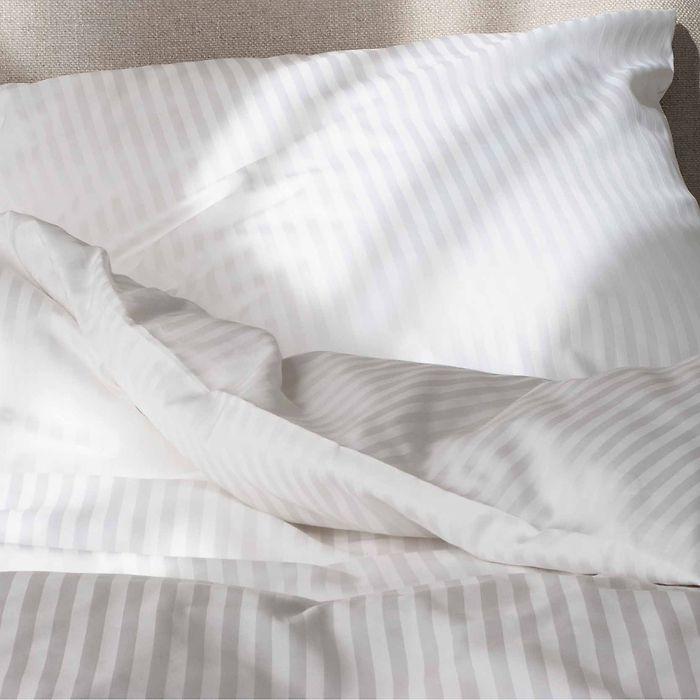 Bettbezug Baumwolldamast 135x200 cm