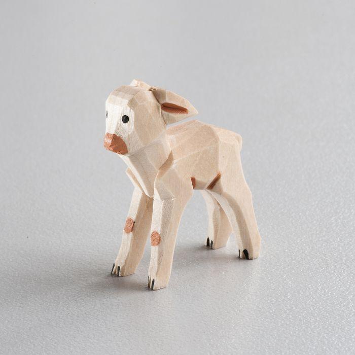 Sievers-Hahn Krippenfigur Helles Lamm