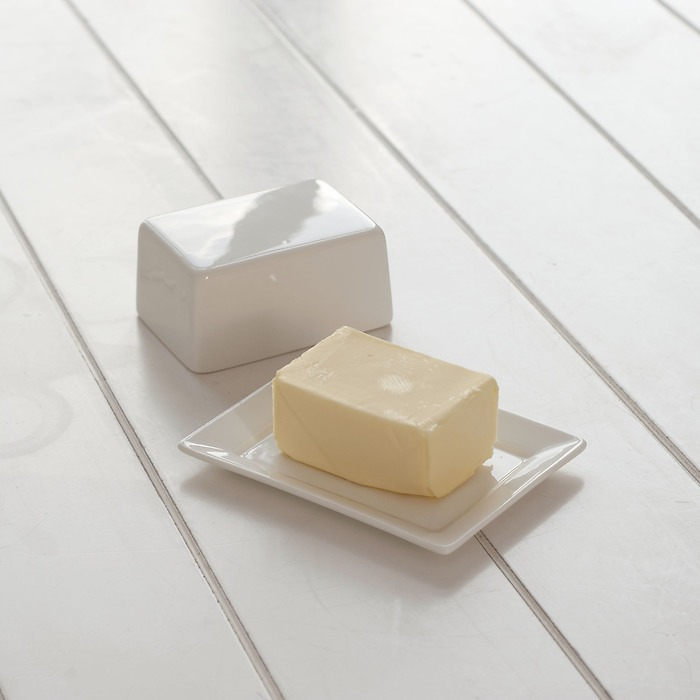Butterdose halbes Stück