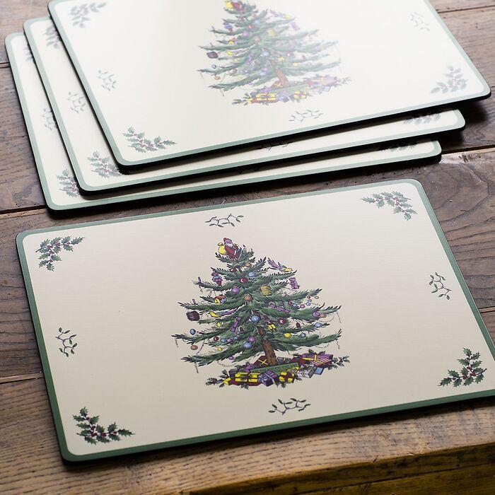 Pimpernel Christmas-Tree 4 Tischsets
