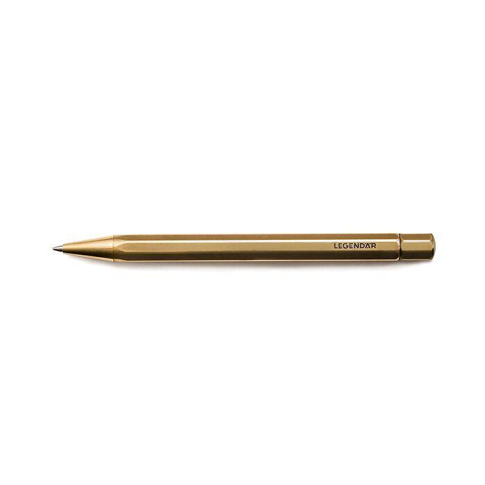 LEGENDÄR Brass Ballpoint Pen TWYST