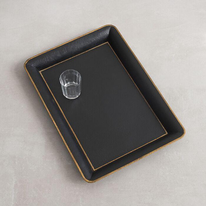 Rechteckiges Tablett Manderston