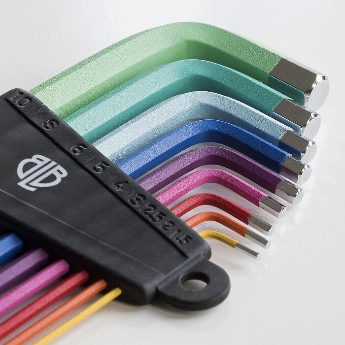 Innensechskantschlüsselset Rainbow