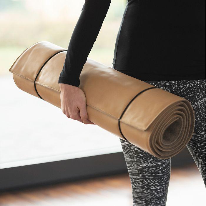 Hack Yogamatte aus Orthopädieleder