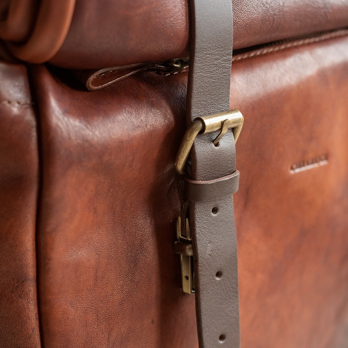 Lederrucksack aus der Toskana