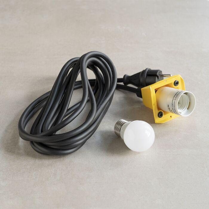 LED-Beleuchtungseinheit für Herrnhuter Stern Gelb
