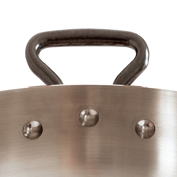 De Buyer Schmorpfanne aus Kupfer