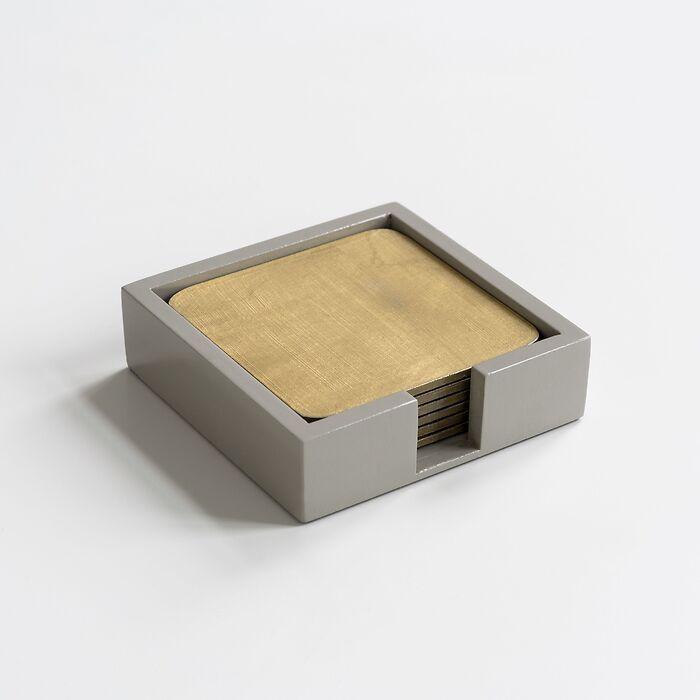 Glasuntersetzer Pan de Oro (6er Set)
