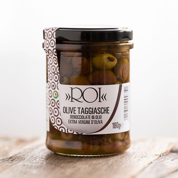 ROI Taggiasca Oliven aus Ligurien