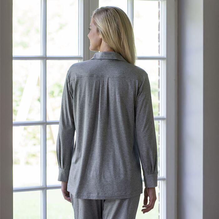 Sunday in Bed Pyjamashirt Langarm