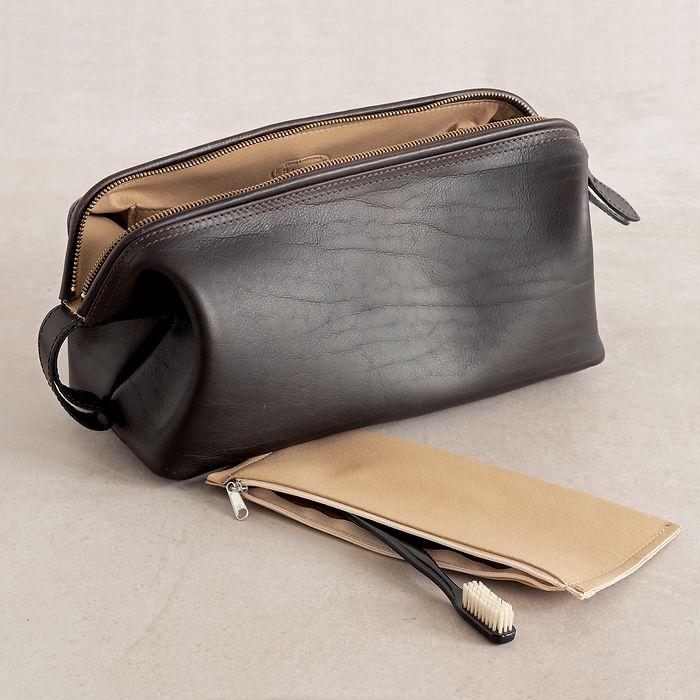 Hammann Riesen-Kulturtasche aus Stierleder