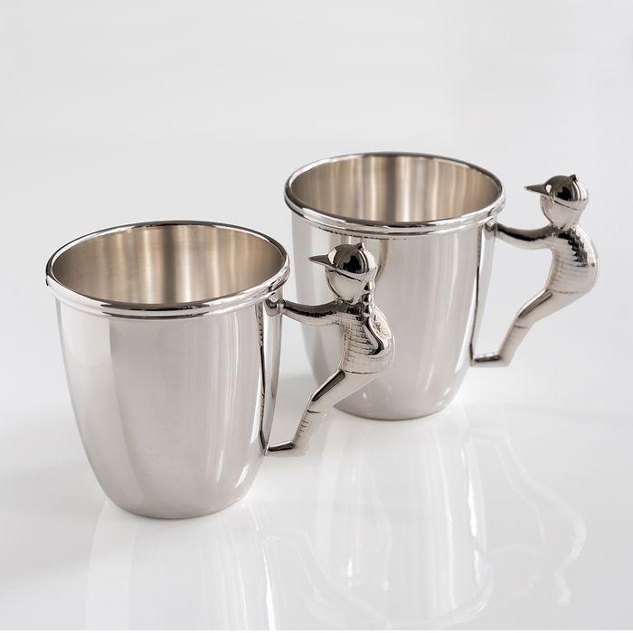 Taufbecher aus Sterling-Silber