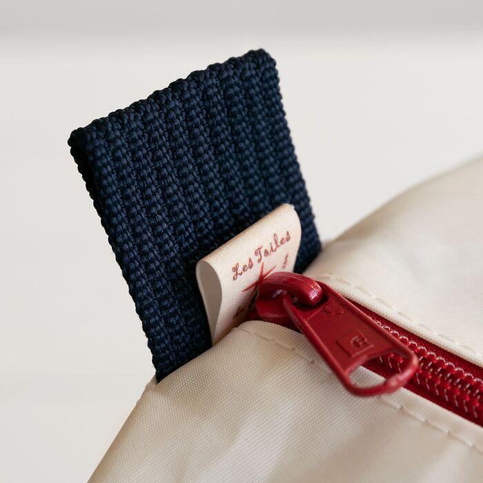 Tasche aus Segeltuch