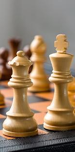 Spielschatulle Schach und Backgammon