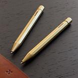 LGNDR Brass Twist Ballpoint Pen
