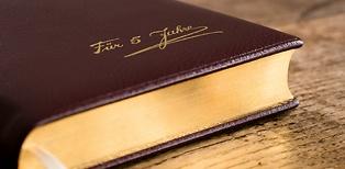 TeBe Fünfjahresbuch aus Leder