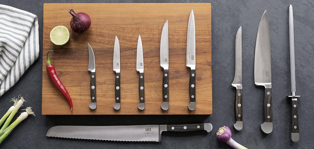 Diese Messer haben wir gemeinsam mit der der Solinger Traditions-Messermanufaktur entwickelt.