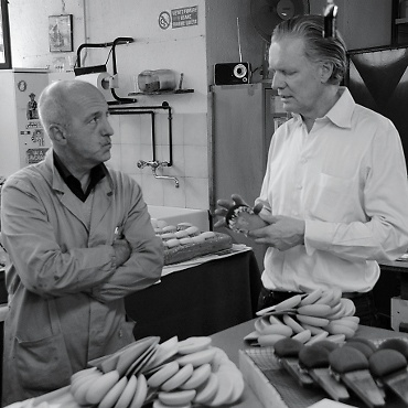 Werkstattbesuch bei Vasco und Fabio Capanni