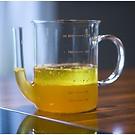 Fett-Trenn-Kanne aus Glas